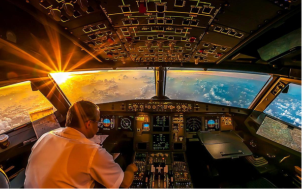 The life of an airline pilot